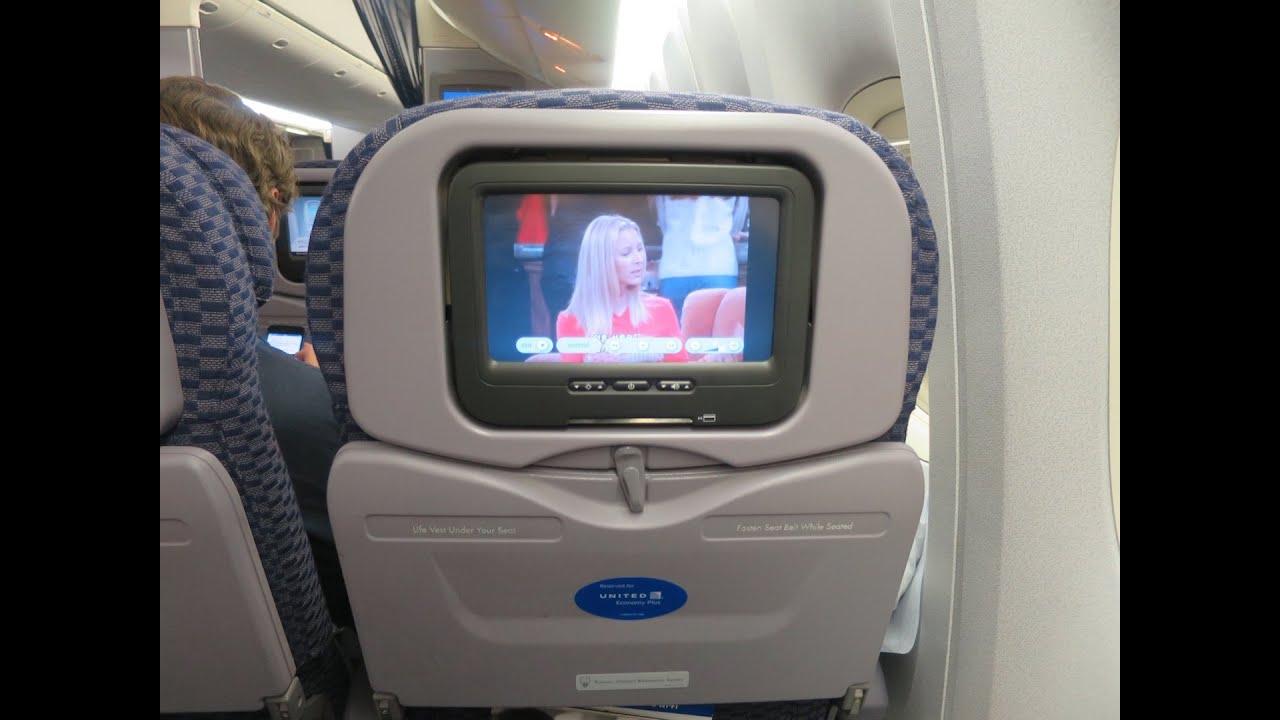 United Airlines | 777-224ER | EWR-BRU | Economy Class Trip