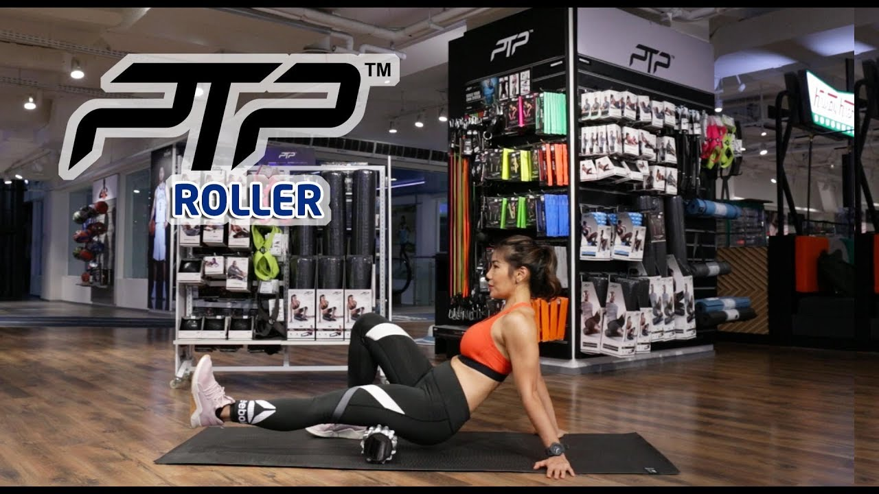 PTP ROLLER - HOME WORKOUT with INGE ANUGRAH | EXERCISE VIDEO