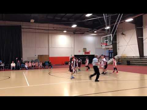 ELGIN VS ST CHARLES EAST FRESHMAN A B GIRLS BASKETBALL DEC 9, 2017 SABRINA MOSKOW #14