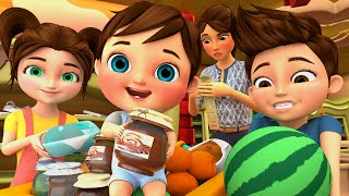 The Grocery Store  + The BEST SONGS For Children - Banana Cartoon Original Songs [HD]