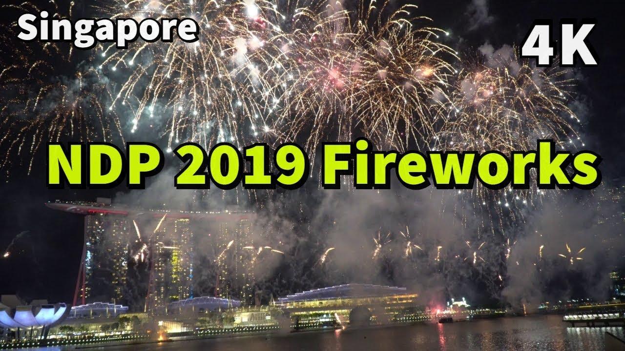 NDP 2019 Rehearsal Fireworks & Dates