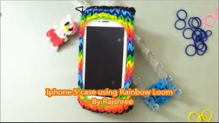Rainbow Loom iphone 5/5S/5C case