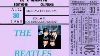 HOLLYWOOD BOWL Concert August 30 1965 THE BEATLES