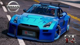GTA 5 Mod | Nissan GT-R Widebodykit