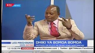 Dhiki ya bomoa bomoa: Mizozo ya ploti ni dhiki kwa wapangaji