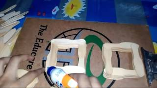 How To Make A  Pencil Holder With Ice cream Spoons