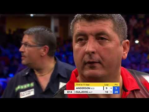 Mensur Suljovic wins his first TV title!