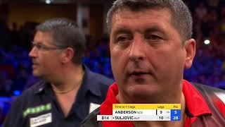 Mensur Suljovic wins his first TV title!