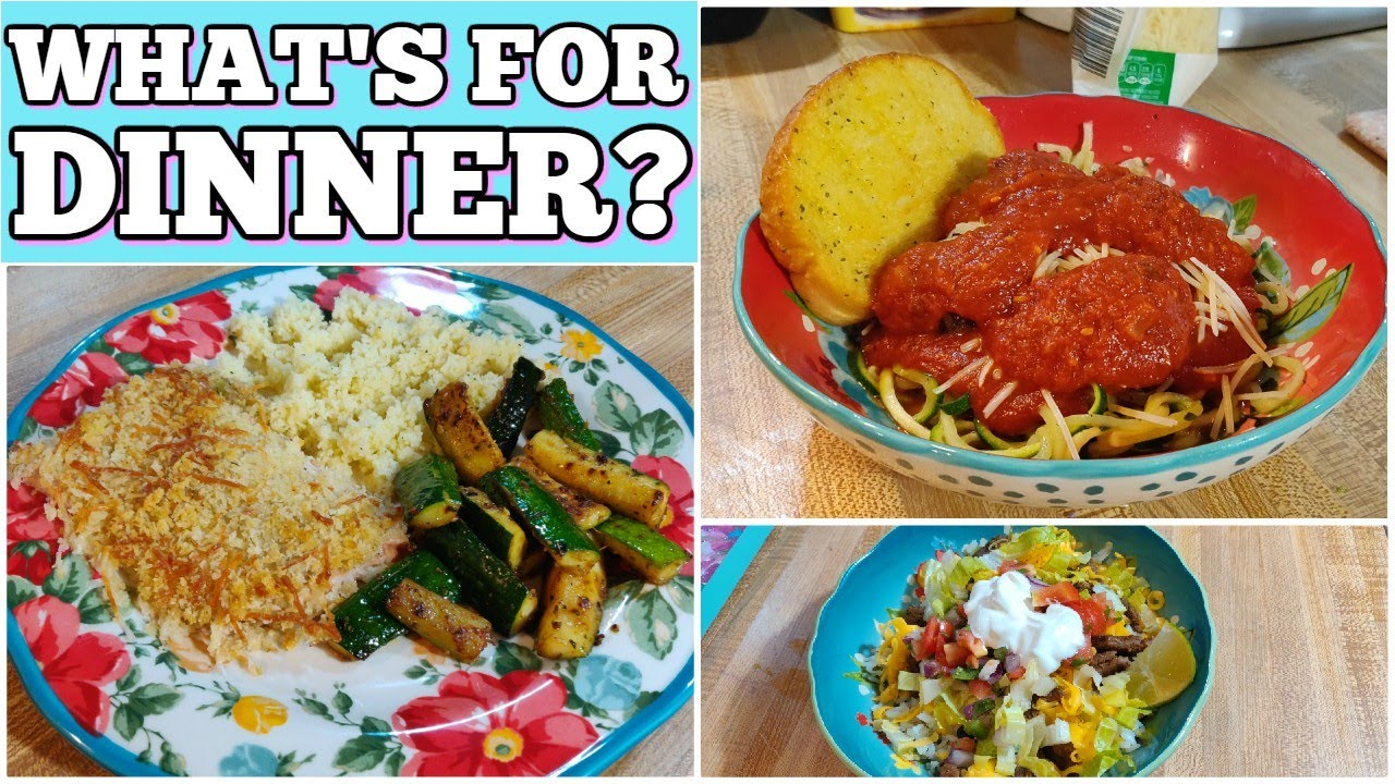 What's For Dinner? | 7 Real Life Family Meal Ideas