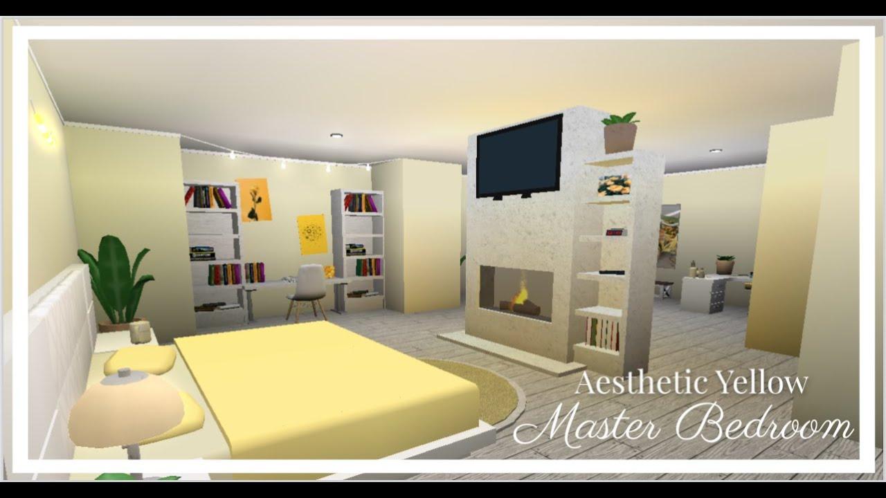 Aesthetic Master Bedroom Roblox Bloxburg Youtube