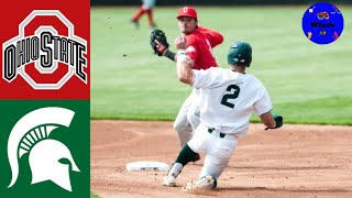 Ohio State vs Michigan State Highlights (Crazy Ending!) | 2018 College Baseball Highlights