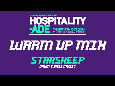 Hospitality @ ADE 2014 Warm Up Mix (Drum & Bass) by Starsheep