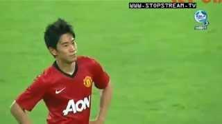 マンU 香川真司 移籍後初ゴール 上海申花戦 Manchester united Shinji Kagawa first goal thumbnail