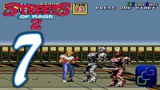 Streets Of Rage 2 Walkthrough - Part 7 - AXEL Stage 7