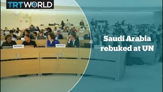 36 countries issue first rebuke of Saudi Arabia at UN forum