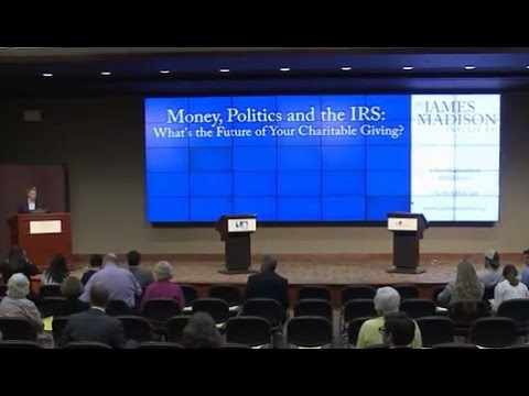 """Debate: """"Money, Politics and the IRS: What's the Future of Your Charitable Giving?"""""""
