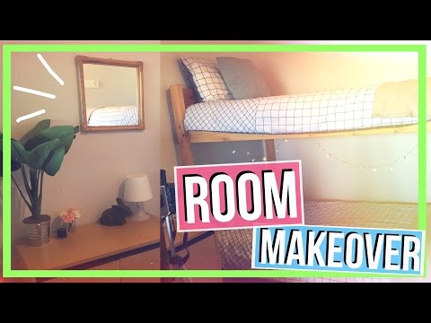 ROOM MAKEOVER 2017! ♡ Redecorating a room on a budget!