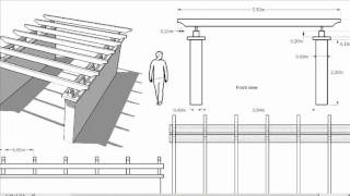 Lad202 \ 3d Modelling Of A Pergola With Sketchup
