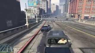 GTA V: Sticky Bomb vs Los Santos Police