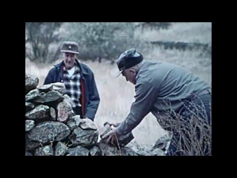 The Mending Wall - Robert Frost - Read by Leonard Nimoy