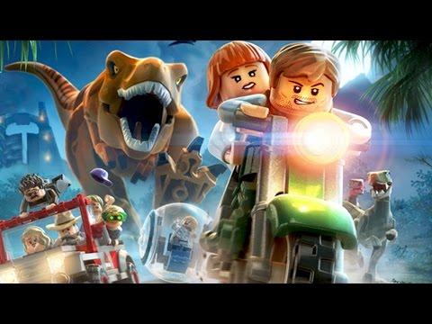 Lego Jurassic Word Playthrough Part 1| Jurassic Park Gameplay