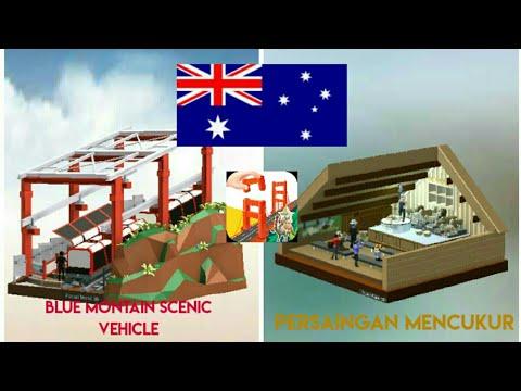 Pocket World 3D - Sydney Walkthrough (Blue Mountain Cable Car, Persaingan Mencukur)