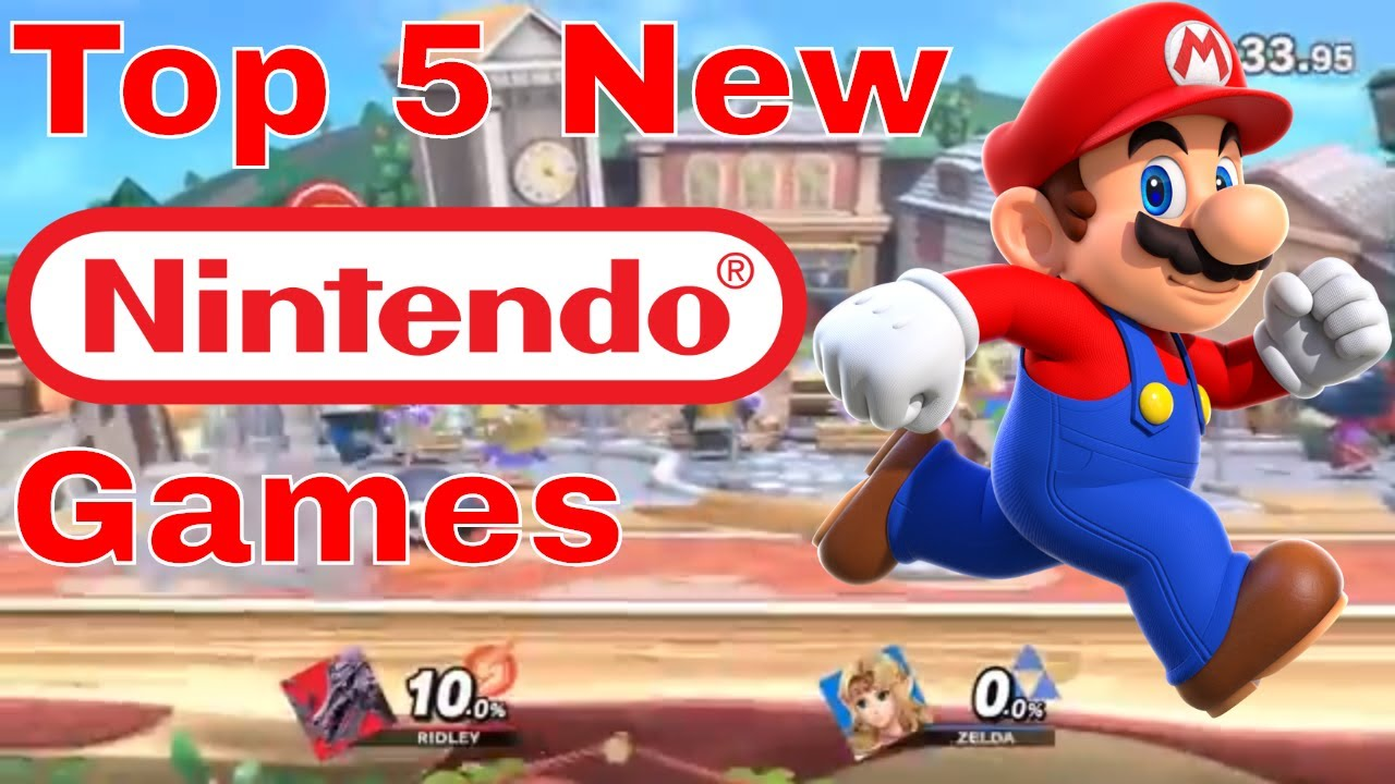 Top 5 New And Upcoming Nintendo Switch Games Coming Out