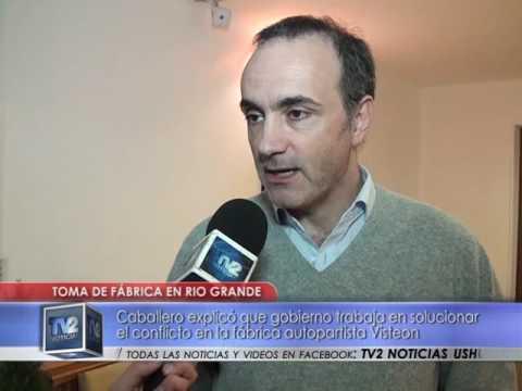 Toma fábrica de Río Grande | Industria | 16/09/2016 - TV2 Noticias