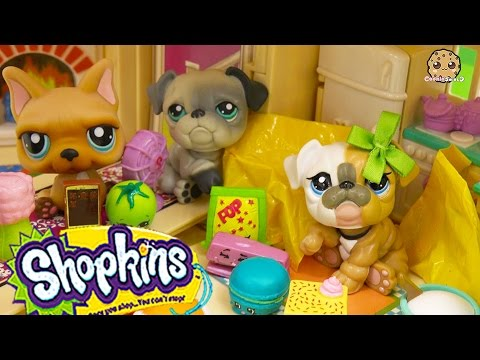 Shopkins Season 3 12 Pack Unboxing With 2 Mystery Blind Bags At LPS Mommies House - Cookieswirlc