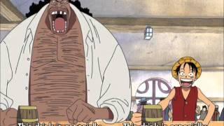One Piece - Luffy & Blackbeard meet at Mock Town