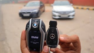 Remote Control Key BMW VS Normal Key Mercedes | Preowned Luxury Cars In India