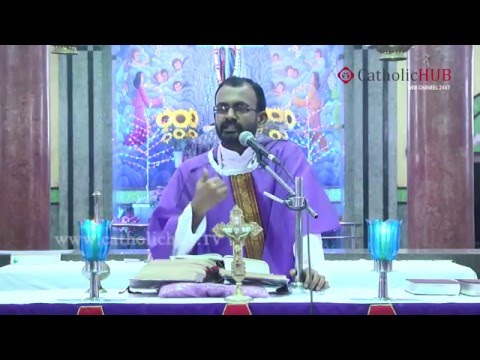 Lenten Renewal Convention by Rev.Fr.Jacob VC,Potta@Our Lady of Good Health,HYD(DAY-2)13-02-16