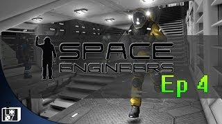 Let's Play Space Engineers - Lets add some stuff to this space station