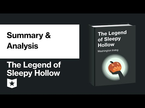 The Legend Of Sleepy Hollow By Washington Irving   Summary & Analysis