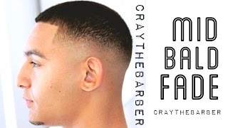 Gambar cover How To Do A Mid Bald Fade