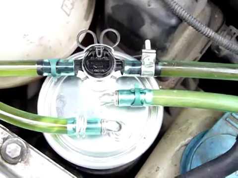 2003 Jetta TDI Air In Fuel Line