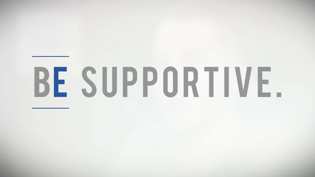 be supportive youtube