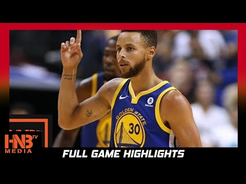 Golden State Warriors vs Memphis Grizzlies Full Game Highlights  / Week 1 / 2017 NBA Season
