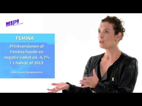 HIPI TV Camilla Kjems, Chefredaktør på Femina