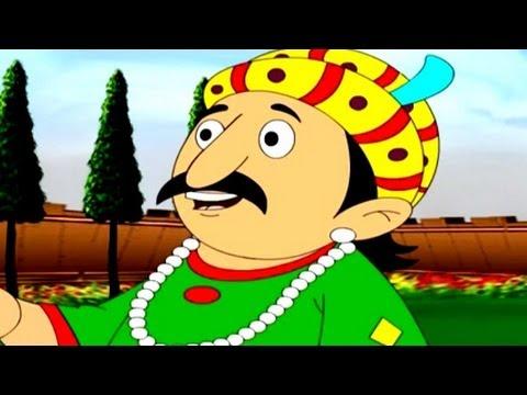 Sawal Ke Liye Sawal - Akbar Birbal Animated Story - Hindi Part 4