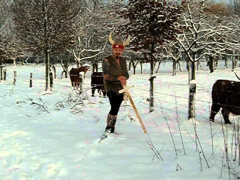 Monheim am Rhein Training im Schnee  für Laufen aber Härter und Fisherman's  Strongman 2011