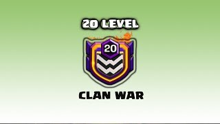 OMG !! Level 20 Clan War Attack Strategy 2018 | Clash Of Clans