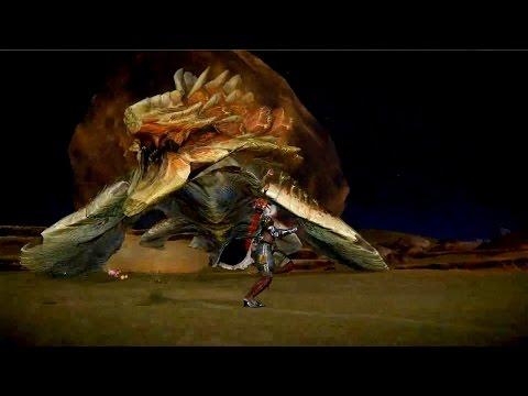 Monster Hunter Online - S Challenges Tartaronis LongSword Night Attack No UI Gameplay
