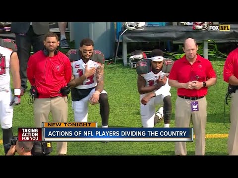 Tampa Bay residents react strongly to actions of NFL players