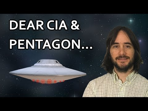 Dear CIA and Pentagon: Please DISCLOSE in 2018