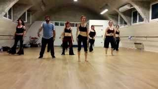 Stage Tribal Fusion Hip Hop Abstract Jessica Nadyka & Ifrah
