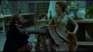 Saffron Burrows Demands He Kiss Her Boot