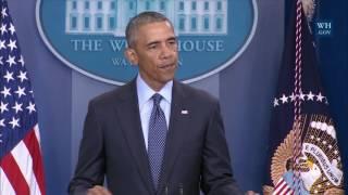 President Obama on Orlando shooting