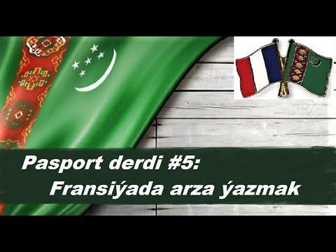 Azat Türkmen #108. Pasport derdi #5: Fransiýada arza ýazmak