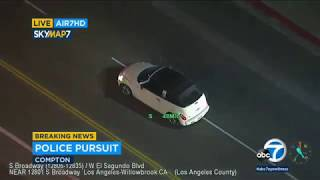 Police Chase DUI Supspect